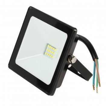 Прожектор светодиодный tdm народный сдо-04-020н, 20 вт, 6500 к, ip65, черн