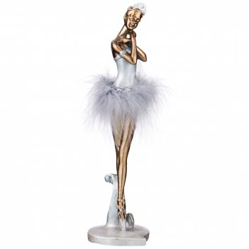 Статуэтка балерина 8,5*8*29 см. серия фьюжн (кор=16шт.)