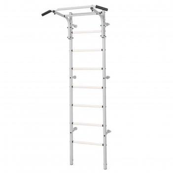 Шведская стенка kett-up acrobat 2, цвет серый металлик