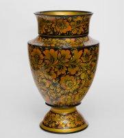 вазы деревянные
