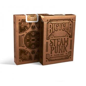 Карты для покера bicycle steampunk bronze