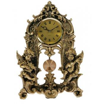Часы настольные ангелочки 25*9*35см