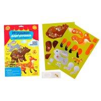 Набор для творчества животные для создания игрушек-дергунчиков
