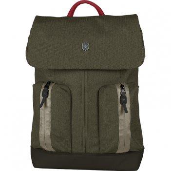 Рюкзак victorinox altmont classic flapover laptop 15'', зелёный,