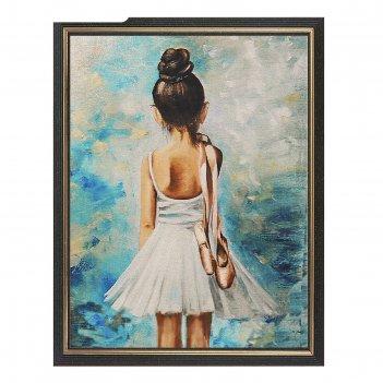 Алмазная картина-раскраска юная прима ra012