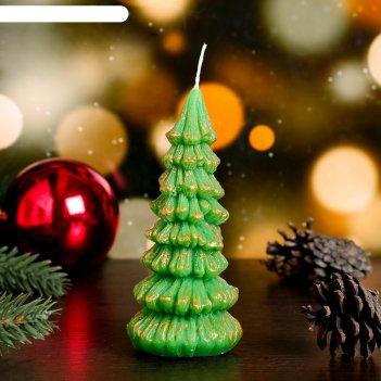 Свеча новогодняя елка