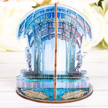 Настольный сувенир 3d тюмень. фонтан