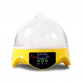 Инкубатор автоматический hhd 7, на 7 яиц, 220 в