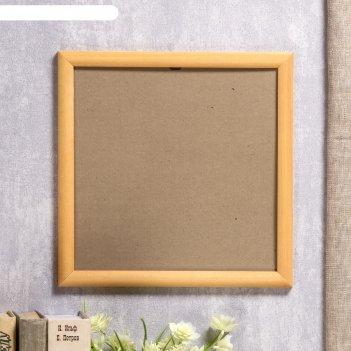Фоторамка сосна янтарь 1/1 25х25 см