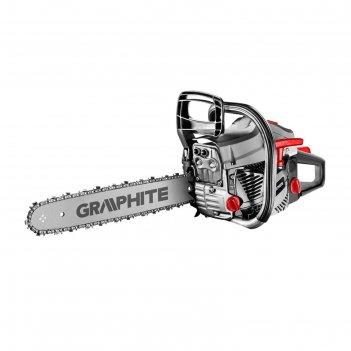Бензопила graphite 89g940, 2 квт, 2.7 л.с., 40 см (16), 10500 об/мин, 550