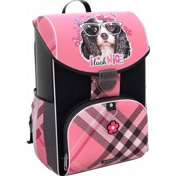 Ранец 44597 erichkrause ergoline 15 l clever dog розовый