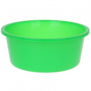 Таз 20 л кливия, цвет зеленый