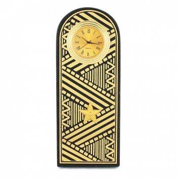 Часы погон генерал цвет золото камень змеевик