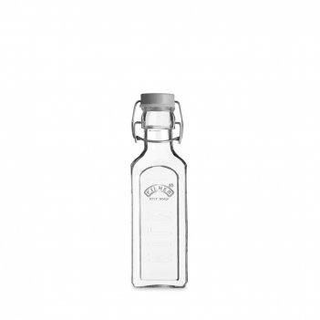 Бутылка квадратная для масла и уксуса с мерным делением, объем: 300 мл, ма