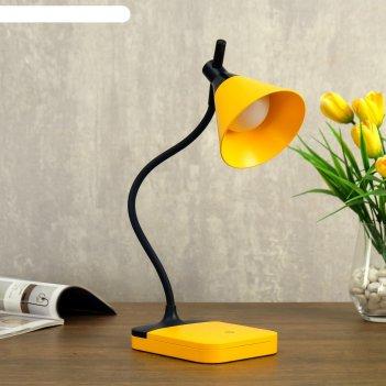 Лампа настольная сенсорная 85298/1 led 3вт 3 режима usb akb желто- синий 1