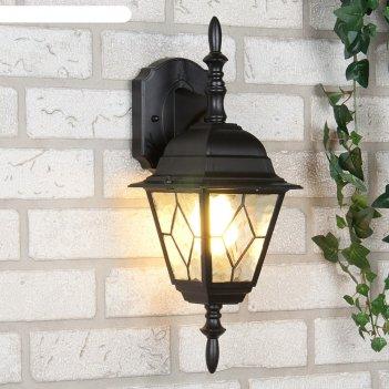 Светильник elektrostandard садово-парковый, 60 вт, e27, ip44, настенный, v