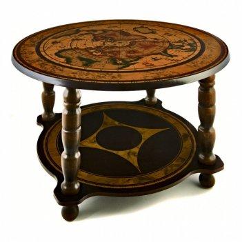 129 сервировочный столик, d.60см h.42см