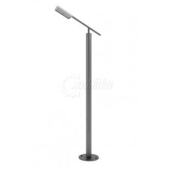 Стальной фонарный столб «модерн-э» со светильником 3,2 м.(80 вт)
