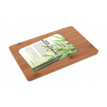 Доска разделочная agness 30*20*0,9 см бамбук (кор=12шт.)