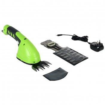 Аккумуляторные садовые ножницы greenworks 2903307, с встроенным аккумулято