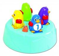 """Игровой набор для ванны """"островок пингвинов-прыгунов"""" tomy"""