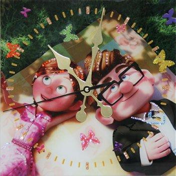"""Картина сваровски - часы """"бабочки в животе"""""""