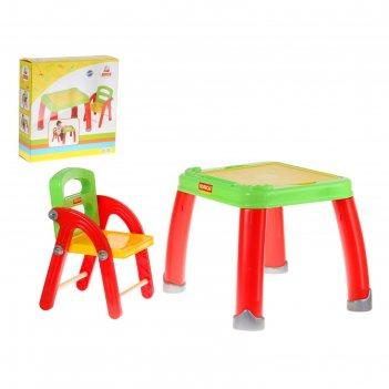 Набор детской мебели: стол и стул