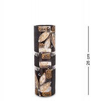 Vz-213 ваза стеклянная лавр (цилиндр, шамот)