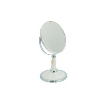 Зеркало* b6209 per/c wpearl настольное 2-стор. 5-кр.ув.15 с