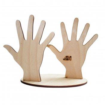 Подставка для игрушек пальчиковый театр. ручки