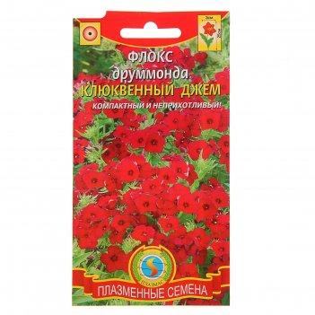 Семена цветов флокс друммонда клюквенный джем, о, 0,1 г