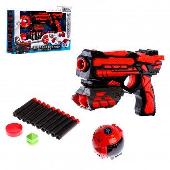 Пистолет «спецагент», в комплекте с мишенью