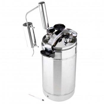 Автоклав-стерилизатор 22 л домашний погребок 2 в 1, манометр, термометр, к