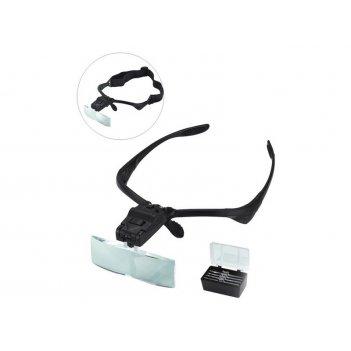 Лупа-очки с комплектом сменных линз