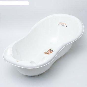 Ванна детская 102 см., дикикй запад - оленёнок, цвет белый
