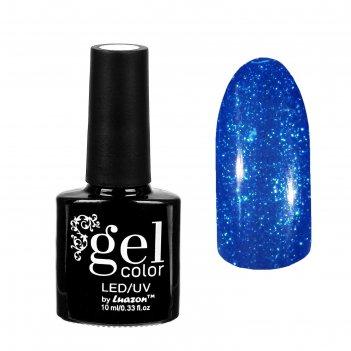 Гель-лак для ногтей горный хрусталь, трёхфазный led/uv, 10мл, цвет 012 син