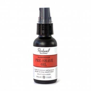 Pre-shave масло для бритья rockwell, аромат кедра, нероли и кожи, 30 мл