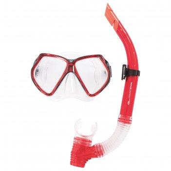 Набор для плавания cozumel (маска, трубка) в ассортименте, от 14 лет (2403