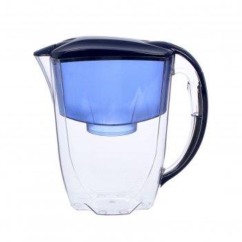 Фильтр-кувшин 2,8 л аквафор-гратис, цвет синий