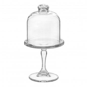 Лимонница d=8,2 см basic, с куполом, на ножке, h=9,5 см