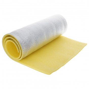 Ковер туристичкский фольгированый желтый 10 мм (1,8 х 0,6)