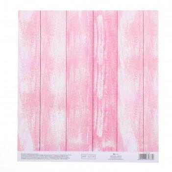 Бумага для скрапбукинга с клеевым слоем «жизнь в розовом цвете», 20 x 21,5