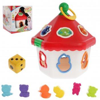 Развивающая игрушка-сортер «чудо-дом»