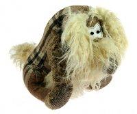 Интерьерная фигурка - мягкая игрушка собачка 25см