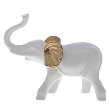 Изделие декоративное фигурка слон, l25,5 w11 h21,5 см