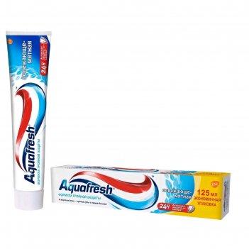 Зубная паста aquafresh тотал «освежающе мятная», 125 мл