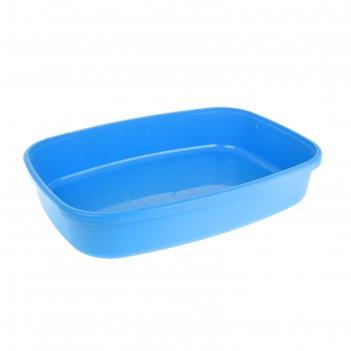 Туалет биг, 62х44х13 см, синий