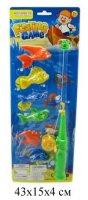 Рыбалка магнитная, удочка, 6 рыбок