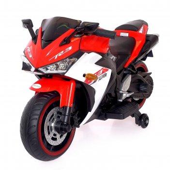 Электромобиль «супербайк», цвет красный