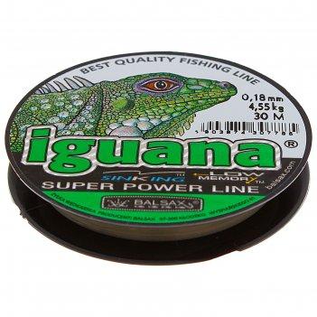 Леска iguana 0.18 30м